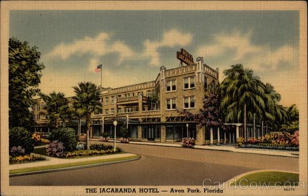 The Jacaranda Hotel Avon Park Fl