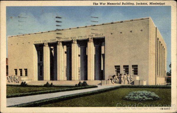 The War Memorial Building Jackson Mississippi