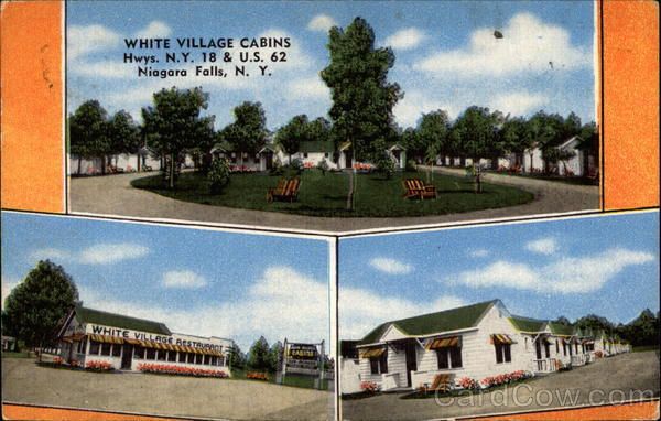 White Village Cabins Niagara Falls New York