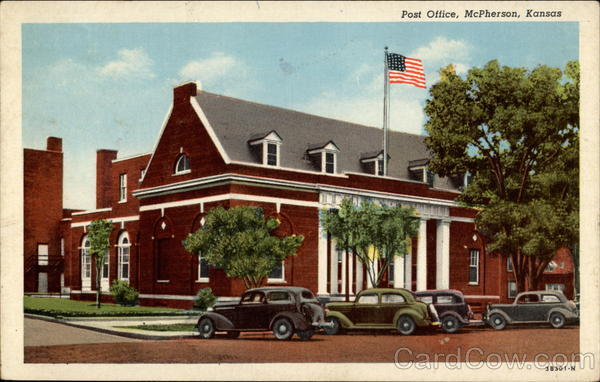 Post Office McPherson Kansas