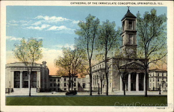Cathedray of the Immaculate Conception Springfield Illinois