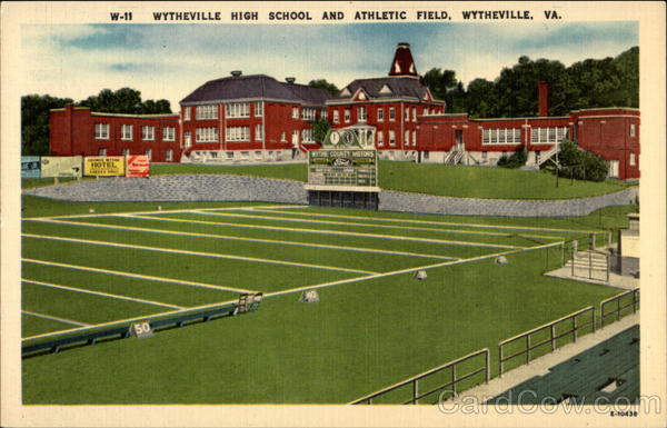 Wytheville High School and Athletic Field Virginia