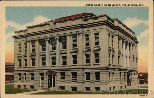 Butler Coutny Court House Poplar Bluff Missouri