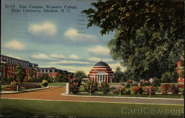 East Campus, Women's College, Duke University Durham North Carolina