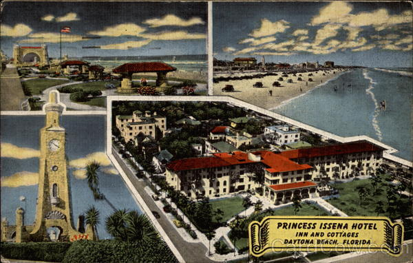 Princess Issena Hotel Inn and Cottages Daytona Beach Florida