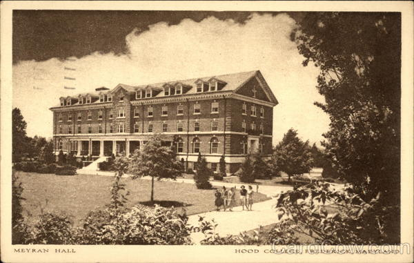 Meyran Hall, Hood College Frederick Maryland