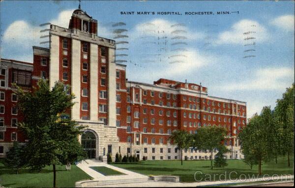Saint Mary's Hospital Rochester Minnesota