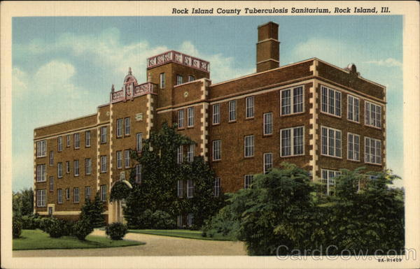 Rock Island County tuberculosis Sanitarium Illinois