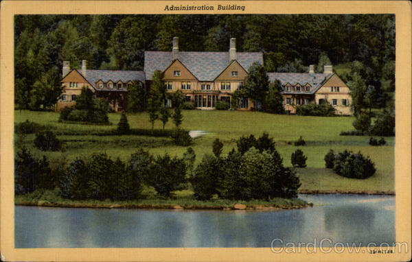 Administration Building, Allegany State park Salamanca New York