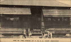 One of the cabins at Y. M. C. A. Camp Meacham