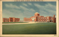View of Campus, Le Moyne College Postcard