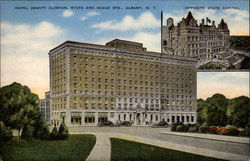 Hotel Dewitt Clinton, State and Eagle Sts Postcard