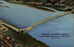 Lincoln Highway Bridge Across Mississippi River