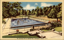 The swimming pool at Garfield Park