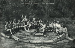 Fun Around a Campfire - Camp Sacajawea
