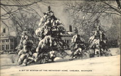 A Bit of Winter at the Methodist Home