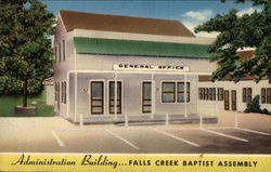 Administration Building... Falls Creek Baptist Assembly