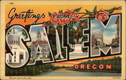 Greetings from Salem, Oregon