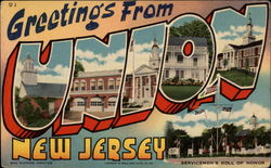 Greetings from Union New Jersey