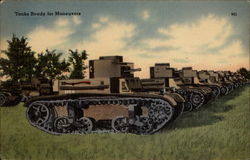 Tanks Ready for Maneuvers
