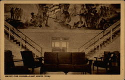Service Club Lounge - Camp Howze, Texas