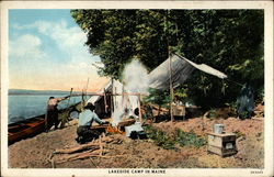 Lakeside Camp in Manine