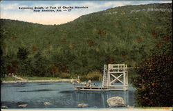 Swimming Beach at Foot of Cheaha Mountain Near Anniston