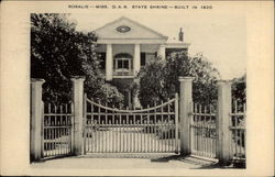 Rosalie D. A. R. State Shrine - builtin 1820