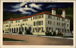 Lake Lure Inn by Moonlight