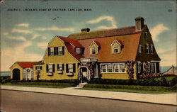 Joseph C. Lincoln's Home at Chatham, Cape Cod Postcard