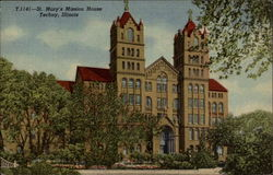 St. Mary's Mission House Postcard