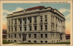 Butler Coutny Court House Postcard