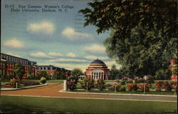 East Campus, Women's College, Duke University Postcard