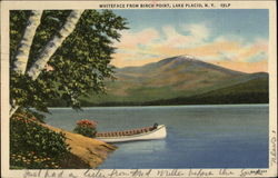Whiteface from Birch Pond