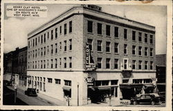 Henry Clay Hotel Postcard
