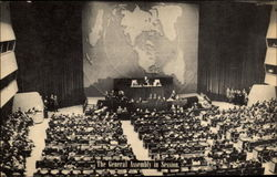 The General Assembly in Session, United Nations