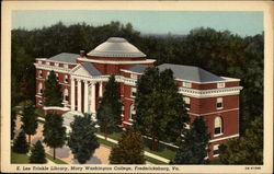 E. Lee Trinkle Library, Mary Washington College
