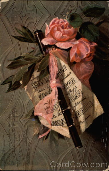 Pink Roses and Musical Score Songs & Lyrics