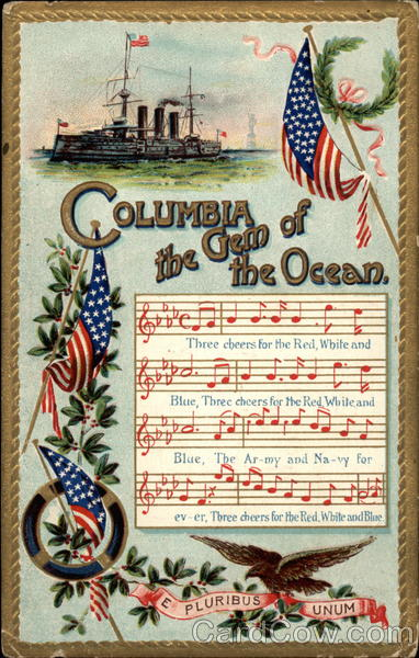 Columbia the Gem of the Ocean Songs & Lyrics