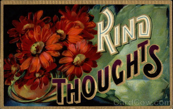 Kind Thoughts Greetings