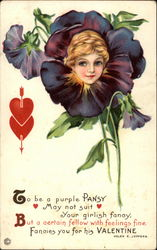 To Be a Purple Pansy