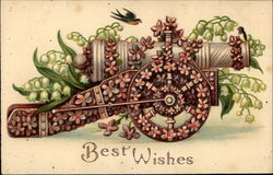 Best Wishes (with floral cannon)