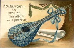 Health, Wealth and Happiness May Attend Your New Year