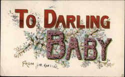 To Darling Baby from