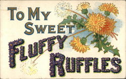 To My Sweet Fluffy Ruffles