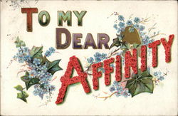 To My Dear Affinity