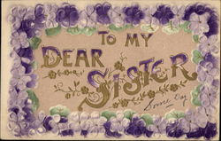 To My Dear Sister