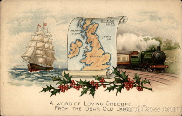 A Word of Loving Greeting, From Dear Old Land Greetings