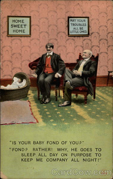 Is Your Baby Fond of You? Comic, Funny