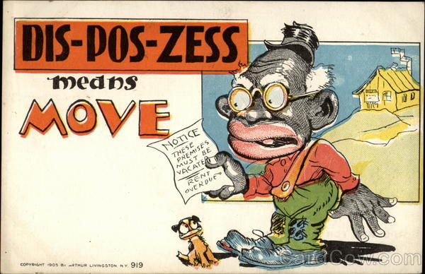 Dis-pos-zess means Move Comic, Funny